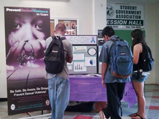 University of Guam Sexual Assault Awareness Month Exhibit – April 28, 2010