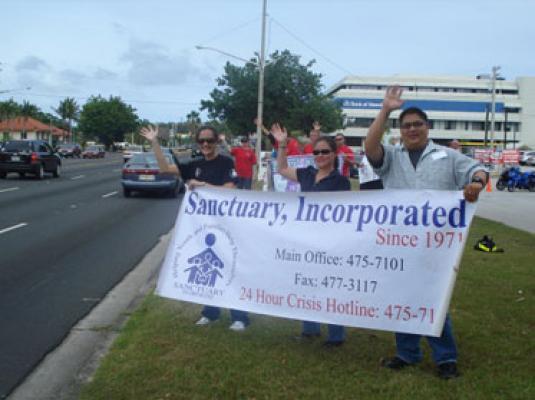 2010 Guam Coalition Wave for Sexual Assault Awareness Month (SAAM) – April 14, 2010